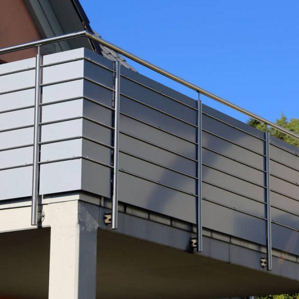 Antikorové zábradlie na balkón Bratislava