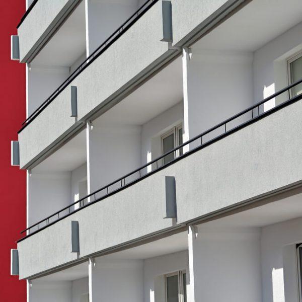 murované zábradlie na balkón Bratislava Schody Zábradlie