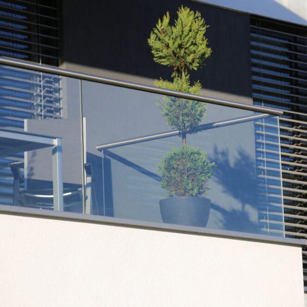 Samonosné sklenené zábradlie Bratislava
