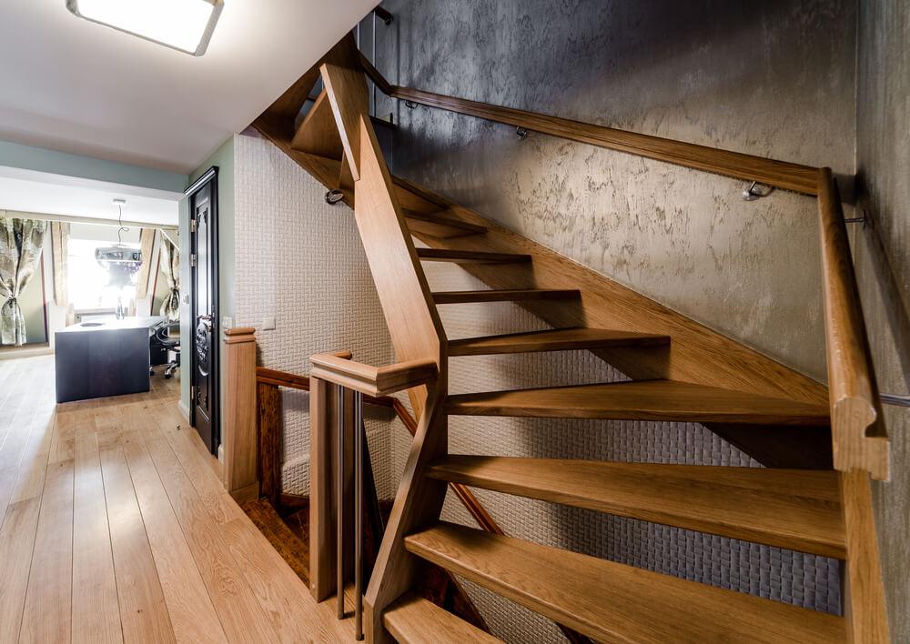 interiérové schody drevené Bratislava Schody Zábradlie