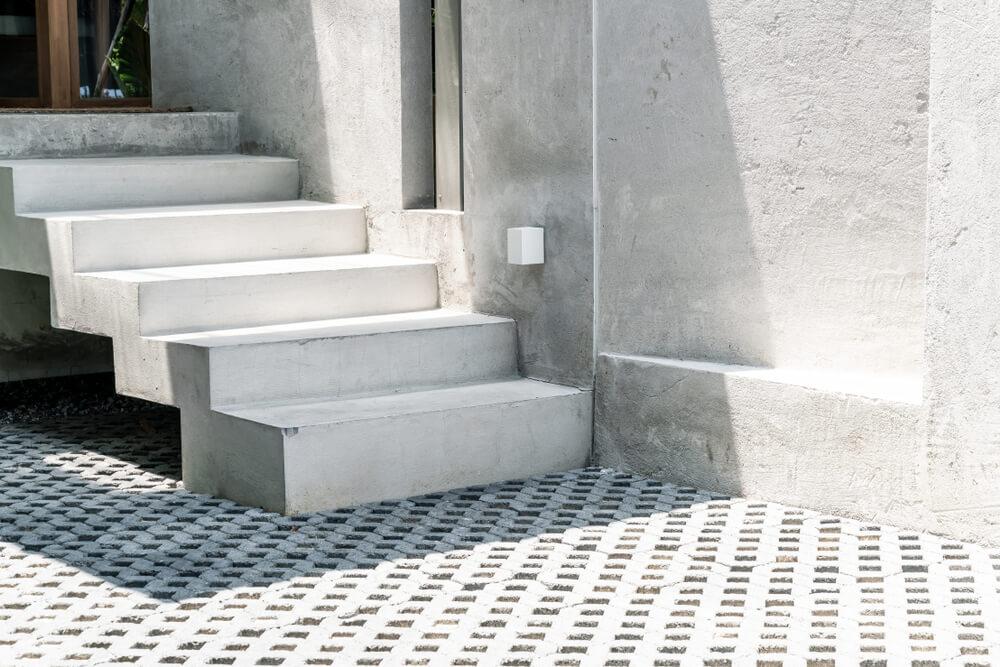 prefabrikované schody Schody Zábradlie