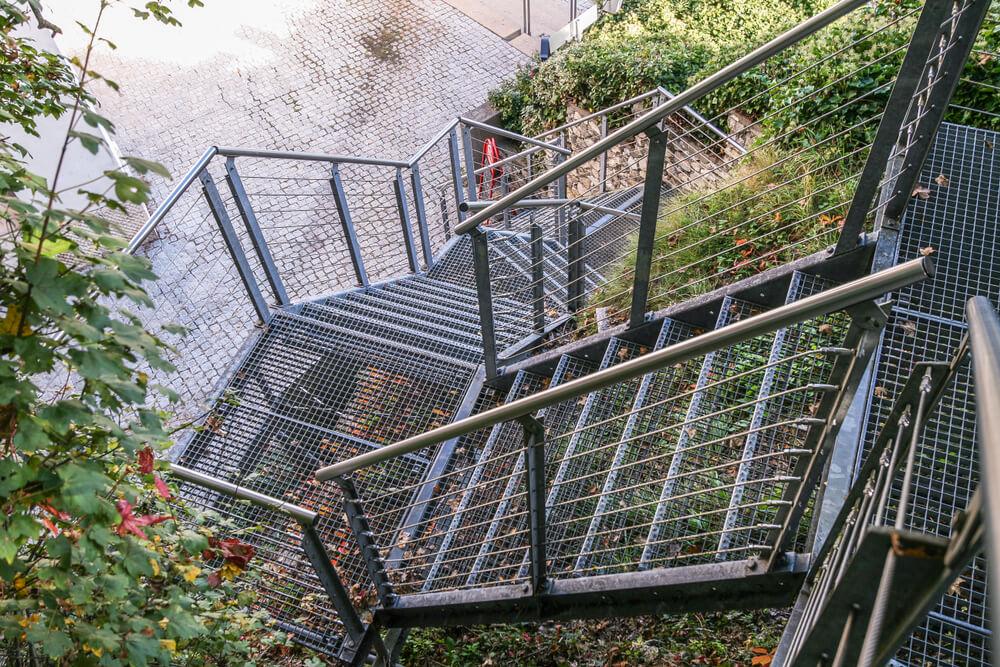 Roštové schody Bratislava