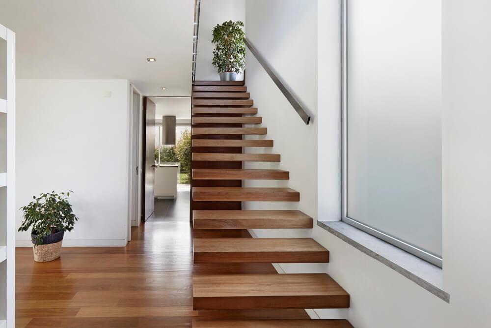 schody v stene konzolové schody Schody Zábradlie